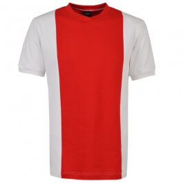 Ajax 1970s No. 14 Short Sleeve Retro Football Shirt