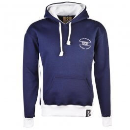The Old Fashioned Football Shirt Co. Hoodie - Navy/White