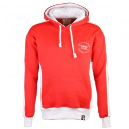 The Old Fashioned Football Shirt Co. Hoodie - Red/White