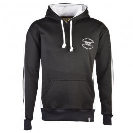 The Old Fashioned Football Shirt Co. Hoodie - Black/White