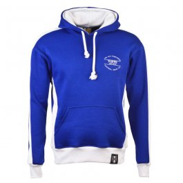 The Old Fashioned Football Shirt Co. Hoodie - Royal/White