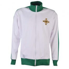 Northern Ireland Retro Anthem Track Top - Made to order - Lead Time - 4 weeks
