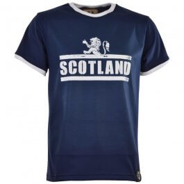 Scotland T-Shirt - Navy/White Ringer