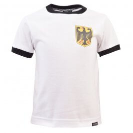 Kids West Germany 12th Man - White/Black Ringer
