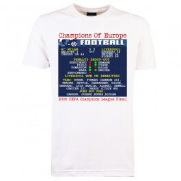 2005 Champions League Final (Liverpool) Retrotext T-Shirt