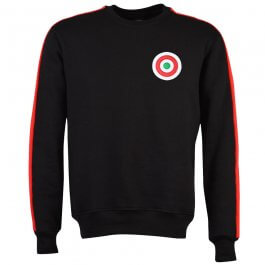 A C Milan Sweatshirt Black/Red