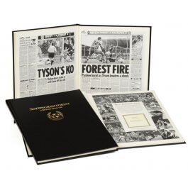 Nottingham Forest Football Newspaper Book