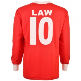 Manchester United 1963 FA Cup Denis Law 10 Football Shirt