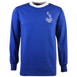 Everton 1966 FA Cup Final Retro Football Shirt.