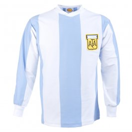 Argentina 1978 World Cup Retro Football Shirt - Made to order - Lead Time - 4 weeks