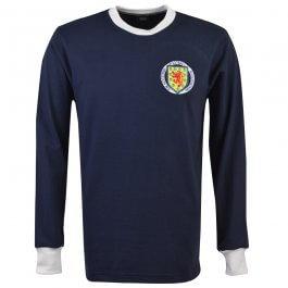 Scotland 1970s Retro Football Shirt