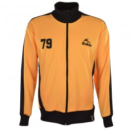 BUKTA  Heritage Track Top Amber with Black Panels/Cuffs/W'Ba