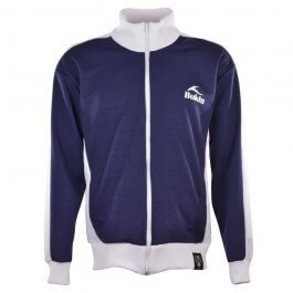 BUKTA  Track Top  Navy with White Panels/Cuffs/W'Band