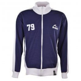 BUKTA  Heritage Track Top Navy with White Panels/Cuffs/W'Ban