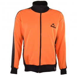 BUKTA  Track Top Orange with Black Panels/Cuffs/W'Band