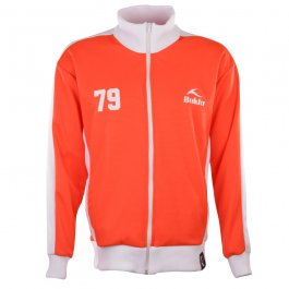 BUKTA  Heritage Track Top Red with White Panels/Cuffs/W'Band