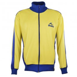BUKTA  Track Top Yellow with Royal Panels/Cuffs/W'Band - Made to order - Lead time - 4 weeks