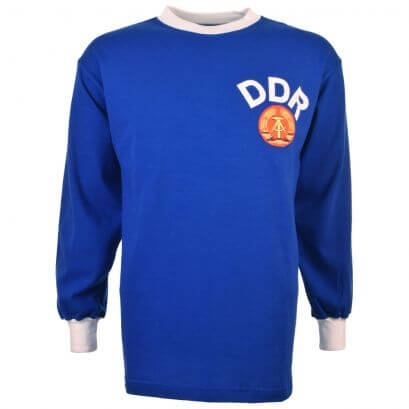 East Germany (DDR) 1970 Kids Retro Football Shirt