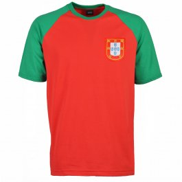Kids Portugal Raglan Sleeve Red/Green T-Shirt