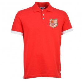 Brentford Red/White Polo