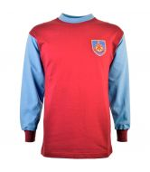 Burnley 1960s Retro Football Shirt - Made to order - Lead Time - 4 weeks