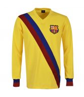FC Barcelona 1974-75 Away Long Sleeve Retro Football Shirt