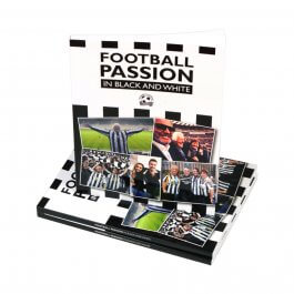 Football Passion in Black & White Newcastle United