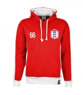 England Number 66 Retro Hoodie