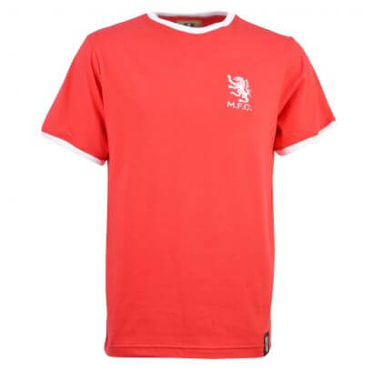 Middlesbrough 12th Man T-Shirt - Red/White Ringer