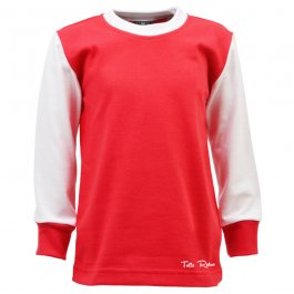 Toffs Classic Retro Long Sleeve Kids Football Shirt