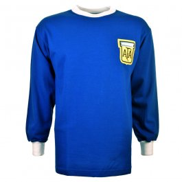 Argentina 1982 World Cup Kids Retro Football Shirt