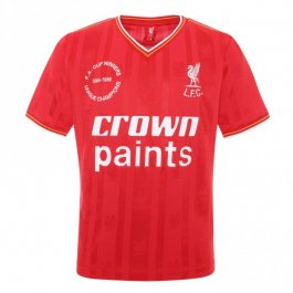 Kids Liverpool 86 Crown Paints Home Shirt