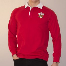 Wales 1976 Vintage Rugby Shirt