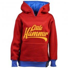 Kids Little Hammers Hoodie - Maroon/Sky