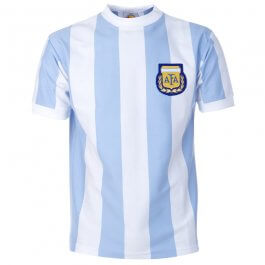 Argentina 1986 World Cup Retro Football Shirt - Made to order - Lead Time - 4-6 Weeks