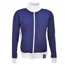 TOFFS Est 1990 Track Top - Navy/White - Made to order - Lead Time - 4 weeks