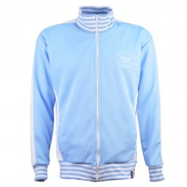 The Old Fashioned Football Shirt Co. - Sky/White Track Top - Made to order - Lead Time - 4 weeks