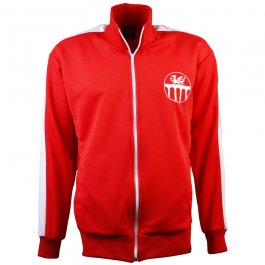 Wales Retro Track Top - Made to order - Lead Time - 4 weeks