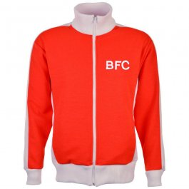 Barnsley Red/White Track Top