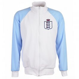 England White/Sky Raglan Track Top  - Made to Order - Lead Time - 4 - 6 weeks
