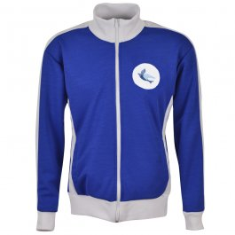 Cardiff City Retro Track Top