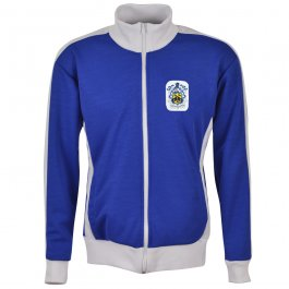 Huddersfield Town Track Top - Royal/White - Made to Order - Lead Time - 4 - 6 weeks