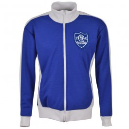 Queen of the South Track Top - Royal/White