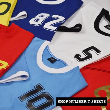 shop number t-shirts